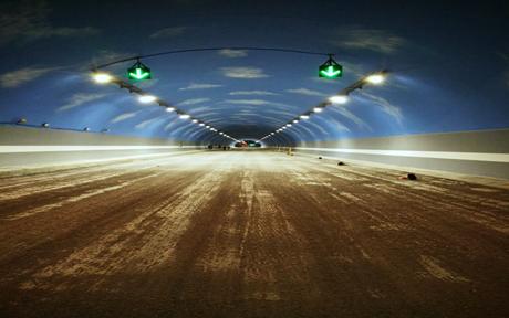 墩头山隧道内墙翻新项目